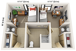 Map Gt Housing Amp Dining Services Gt Colorado State University